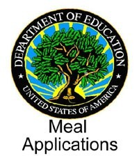 Departments of Ed Seal with caption  Meal Applications